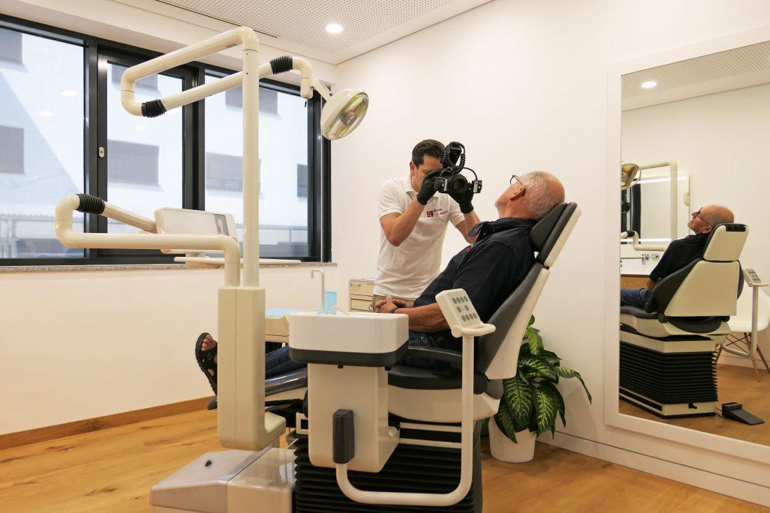 Fotodokumentation im Behandlungszimmer